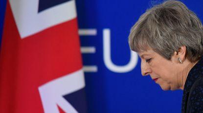 May overweegt brexitakkoord niet meer opnieuw voor te leggen in Lagerhuis, na harde kritiek van gedoogpartner DUP