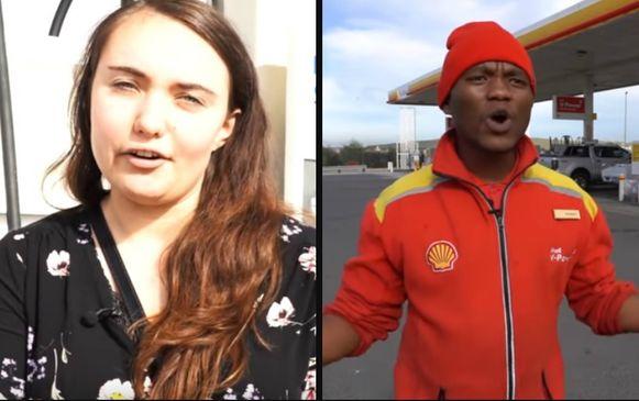 Links: Monet van Deventer. Rechts: Nkosikho Mbele.