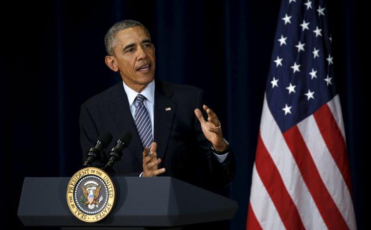 Obama. Beeld reuters