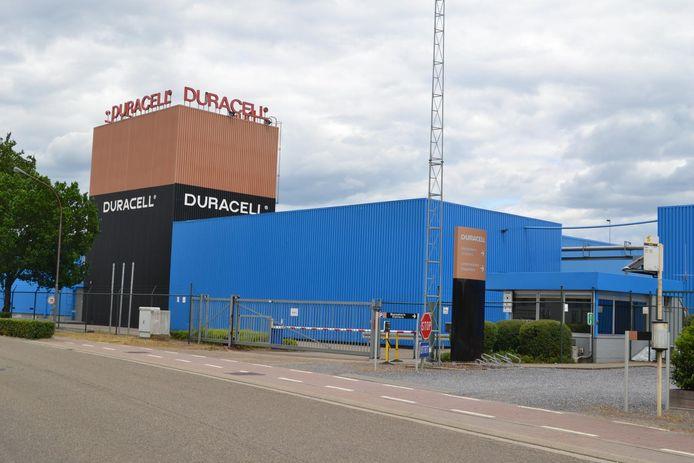 Het bedrijventerrein van Duracell in de Nijverheidslaan in Aarschot.