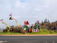 Vreedzaam protest van boeren, nog wel. 'Als het moet, leggen we het land plat'