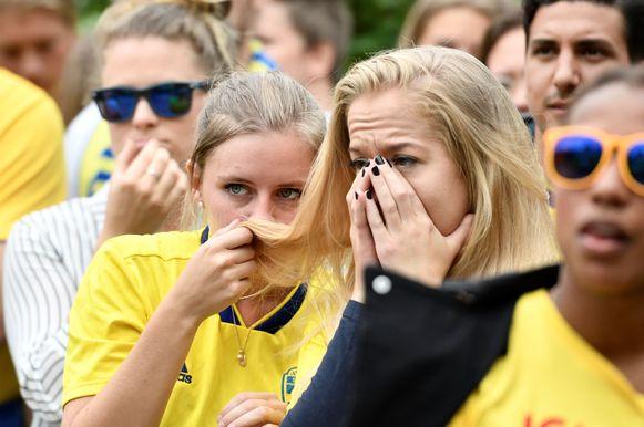 In Zweden was het spanning troef, maar ze wonnen uiteindelijk wel.