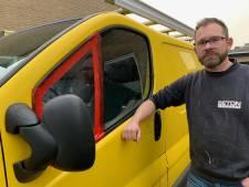 Werkbus van zzp'er Ivo uit Deventer volledig leeggeroofd: 'Ze hebben één grote puinhoop achtergelaten'