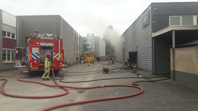 Uitslaande brand de Run in Veldhoven.