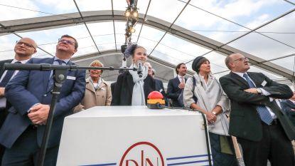 Kleindochter De Nul doopt nieuw schip Taillevent
