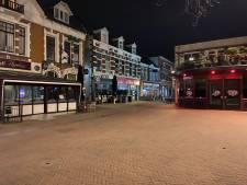 Een onwerkelijke nacht in het uitgaansgebied van Apeldoorn