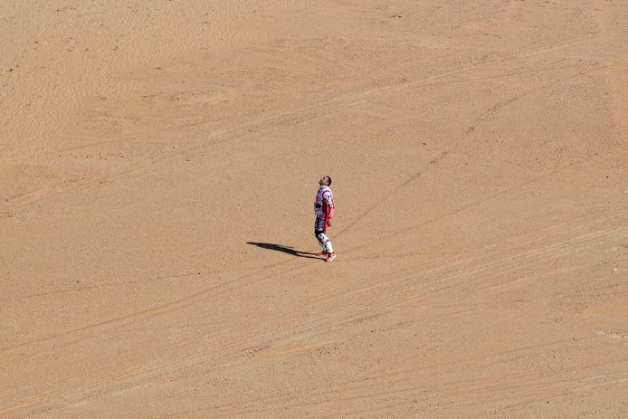 Joaquim Rodrigues verwerkt het nieuws over het overlijden van zijn teamgenoot én zwager Paulo Gonçalves in de Saoedische woestijn.