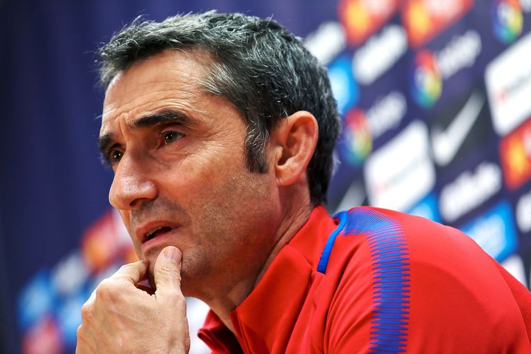 Ernesto Valverde is sinds dit seizoen trainer van FC Barcelona.