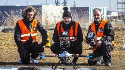 Binnenkort met drones windmolens controleren