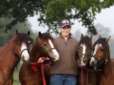 Marijke uit Bornerbroek is in categorie vierspan beste ponymenner van 't land