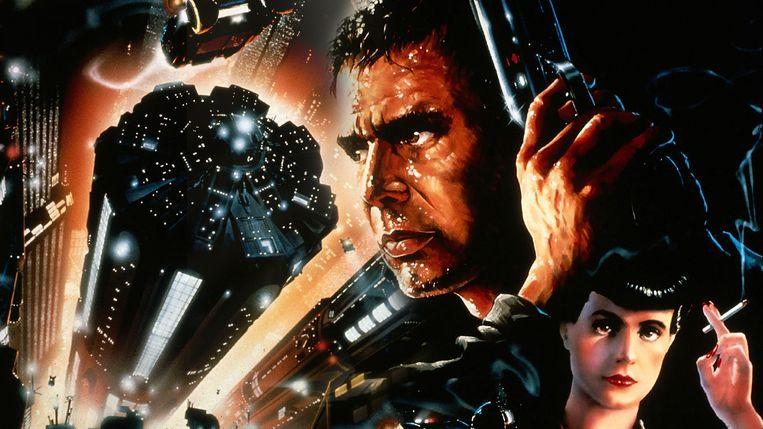 Affiche van Ridley Scotts eighties-klassieker 'Blade Runner'.