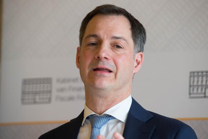 Alexander De Croo, ministre des Finances