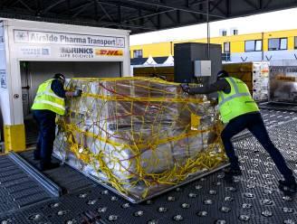 Eerste vluchten met vaccins gepasseerd op Brussels Airport