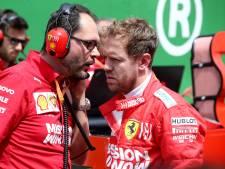 Spijt bij Ferrari-coureurs na crash