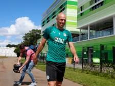 FC Groningen zet alsnog streep door Robben-rentree: 'Ik wil eerst fitter worden'