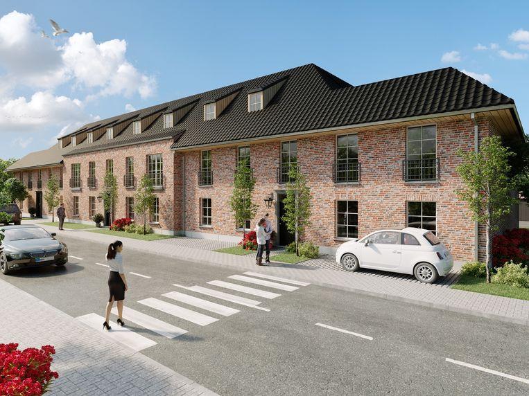 Zo zal de Dompel er na de bouw van het nieuwe appartementsgebouw uitzien.