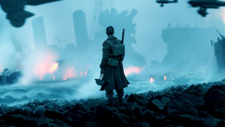 Still uit de film Dunkirk. Beeld