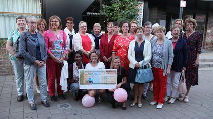 KVLV schenkt 1.000 euro aan Think Pink