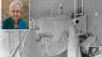 Zussen sterven beiden door een pandemie: Selma (96) aan Covid-19, Esther (5) aan de Spaanse griep