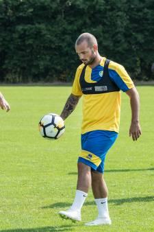 Wesley Sneijder vrijdag te bewonderen in Wenum-Wiesel