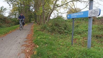 Kruispunten Leirekensroute krijgen rood kleurtje, fietsers krijgen voorrang