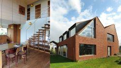 """Nieuwbouwhuis geïnspireerd op hoeve, inclusief hellende daken en dakkapellen: """"Een huis moet in zijn omgeving passen"""""""