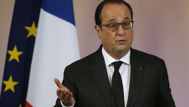 President Francois Hollande Beeld ap