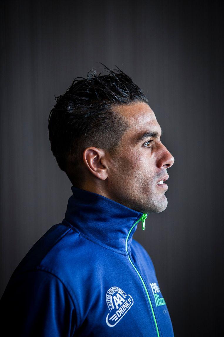 Khalid Choukoud neemt in april voor de vijfde keer deel aan de marathon van Rotterdam.   Beeld arie kievit