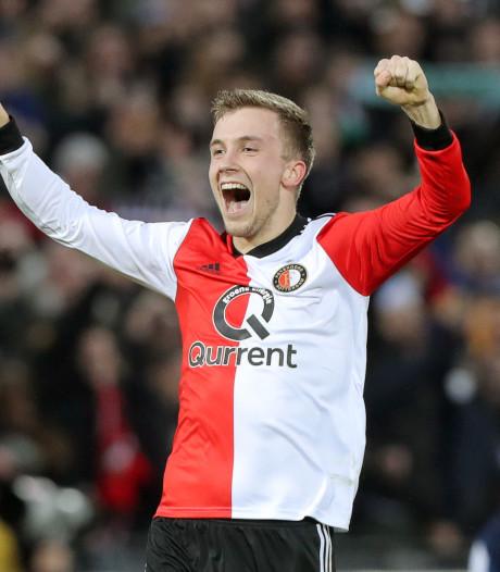Feyenoord koestert jonge Dylan Vente: 'Hij is een complete spits'