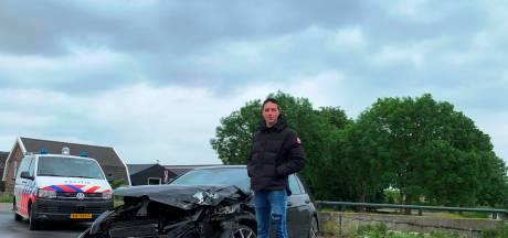 Mart (18) wilde van zijn Golf af, maar niet zo: 'aardige man' rijdt zijn auto total loss