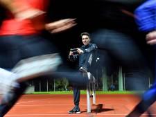 Atleet Sjoerd Weijers is even klaar met het móeten presteren