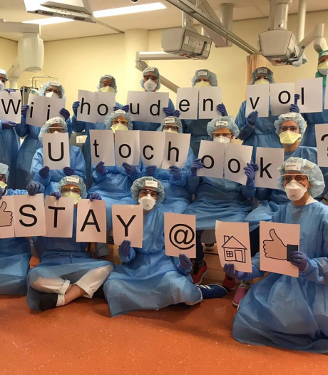 Verpleegkundigen Isala Zwolle gaan los op 'Anderhalf' van Ali B