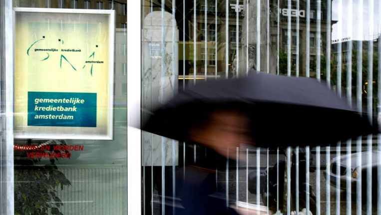 Gemeentelijke Kredietbank Amsterdam (GKA) Beeld anp