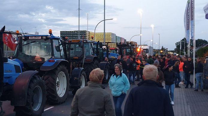 Ook in Haaksbergen kwamen de boeren samen.