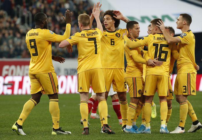 België is winnaar van Groep I.