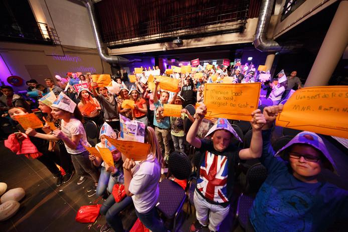 Cees Boot, die werd gekozen tot Conciërge van het Jaar 2015, had een grote schare fans meegebracht.