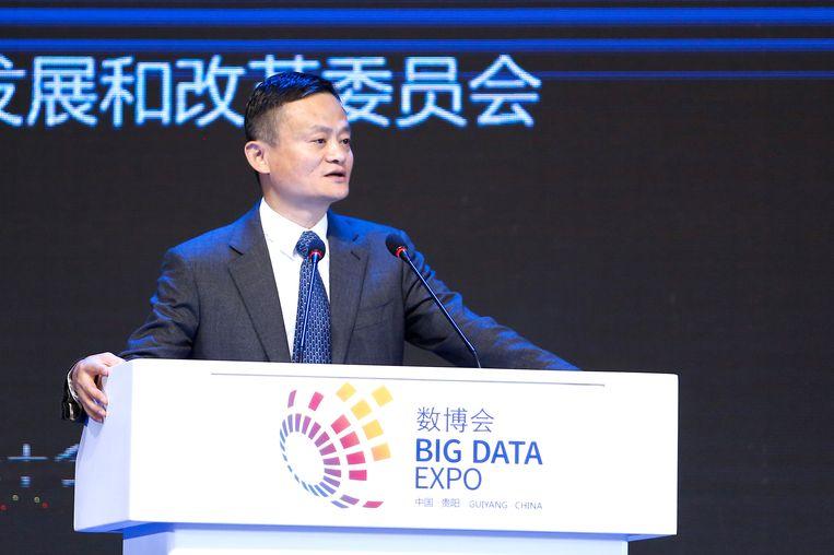Jack Ma (54), als oprichter van Alibaba de rijkste man van China.
