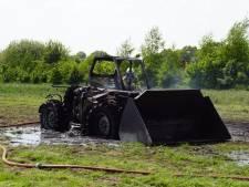 Verreiker in Beltrum gaat in vlammen op