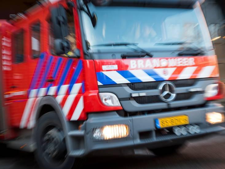 Brand in schuur aan Poststraatje in Bladel, veel rookontwikkeling