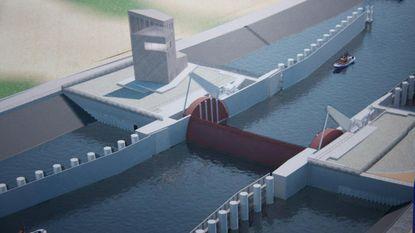 8 miljoen euro extra voor stormvloedkering
