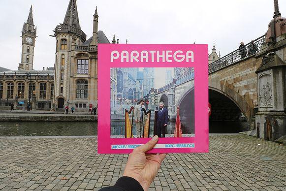Parathega zette de Graslei Gent op de hoes in 1977.
