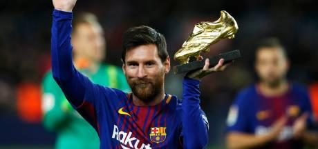 Messi over zesde Gouden Schoen: 'Totaal niet mee bezig'
