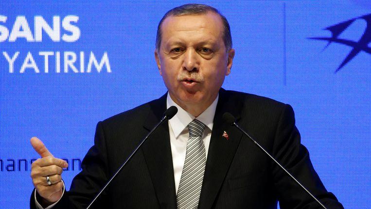 Tayyip Erdogan Beeld reuters