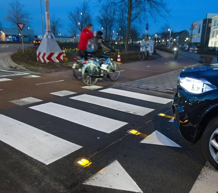 BikeScout om rotonde Beemdstraat - Kasteellaan in Eindhoven.