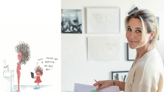 """Vlaamse illustratrices kennen wereldwijd succes: """"We ploeteren nu allemaal. Dat zien, doet mensen deugd"""""""