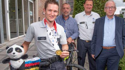 Niels Beelen (31) wereldkampioen mountainbike op 'World Police and Fire Games' in China