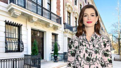 BINNENKIJKEN. Anne Hathaway creëert haar eigen groene oase
