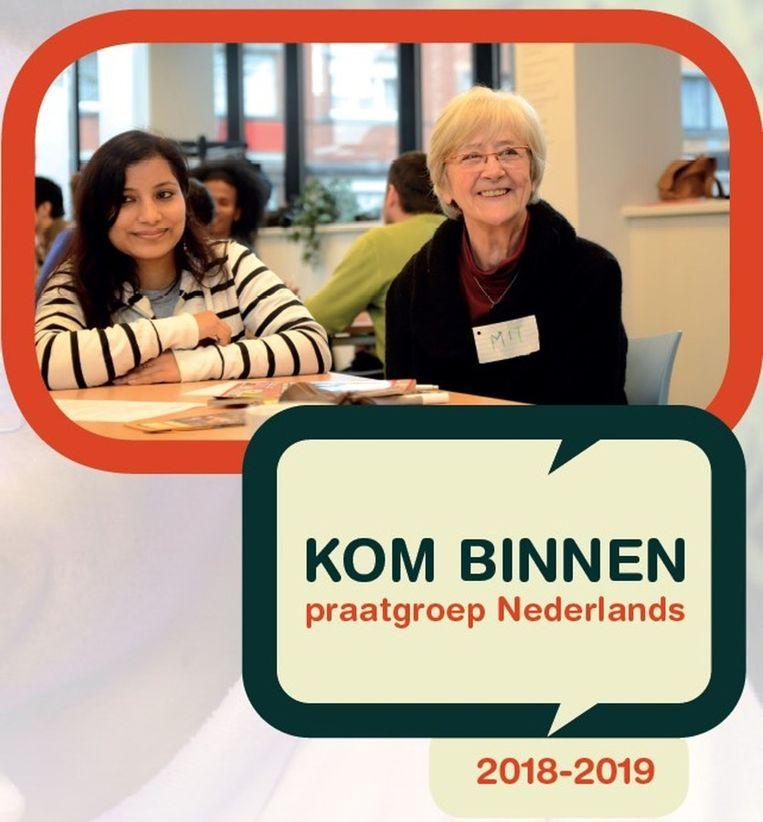 De affiche van Kom Binnen