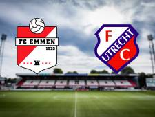 Emmen treft FC Utrecht