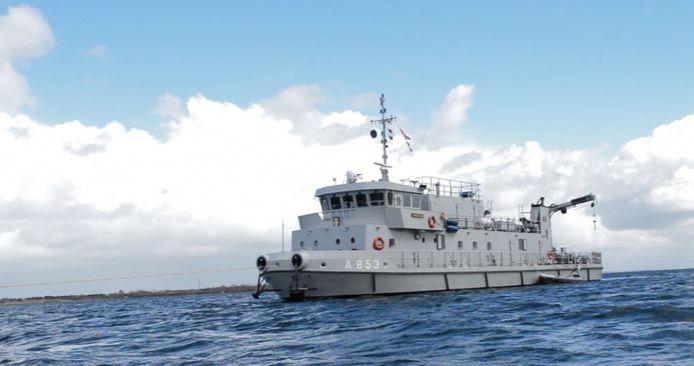 Het duikvaartuig Nautilus van de marine.